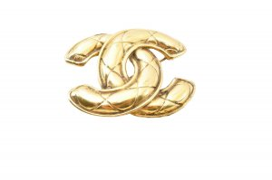 Chanel Brooch gold-colored