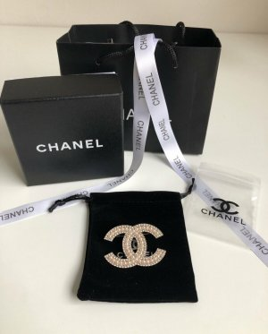 Chanel Brooch silver-colored-gold-colored