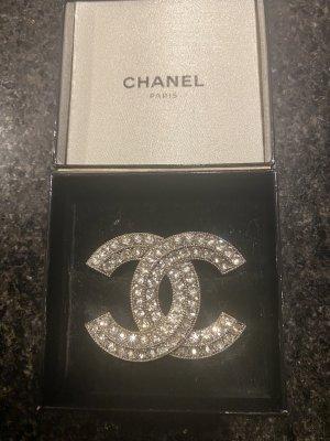 Chanel Broche zilver