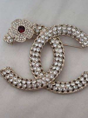 Chanel Broche zilver-goud