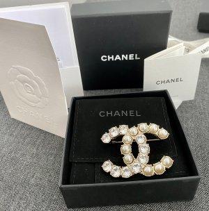 Chanel Spilla oro-bianco
