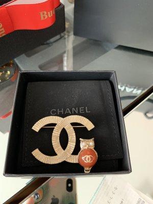 Chanel Broche veelkleurig