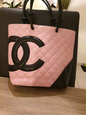 Chanel Borsetta nero-color oro rosa