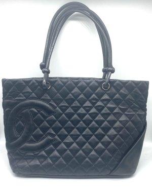 Chanel Shopper black