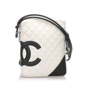 Chanel Borsa a spalla bianco Pelle