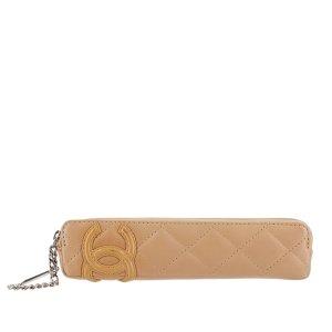 Chanel Cambon Ligne Lambskin Pen Case