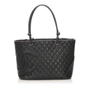 Chanel Cambon Ligne Lambskin Tote Bag