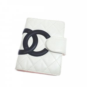 Chanel Cambon Ligne Leather Agenda Cover