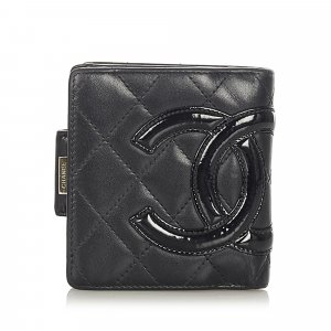 Chanel Cambon Ligne Leather Small Wallet