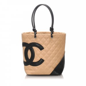Chanel Tote beige leather