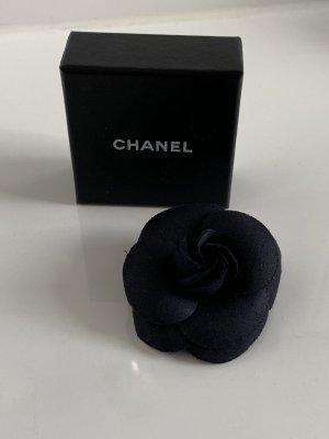 Chanel Brooch black synthetic fibre
