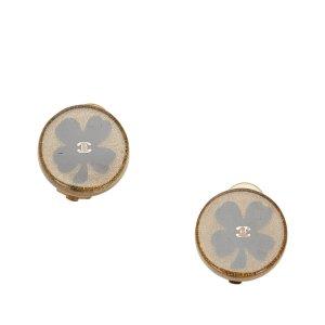 Chanel Camellia Clip-on Earrings