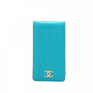 Chanel Camellia Leather Phone Case