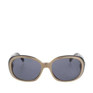 Chanel Camellia Motif Coco Mark Sunglasses