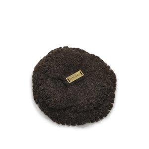Chanel Camellia Wool Brooch
