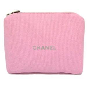 Chanel Handtas rosé Textielvezel
