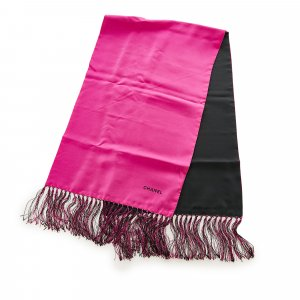 Chanel Bufanda rosa