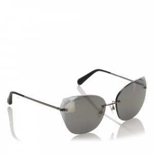 Chanel Sunglasses dark grey metal