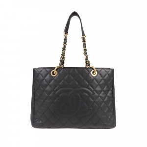Chanel Caviar Grand Shopping Tote Bag