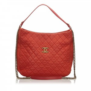 Chanel Sacoche rouge cuir