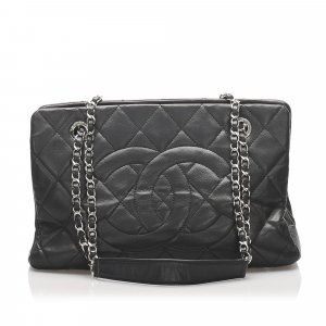 Chanel Caviar Leather Tote