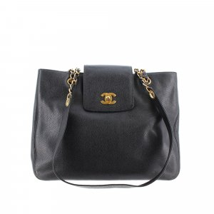Chanel Tote black leather