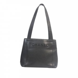 Chanel Caviar Leather Tote Bag