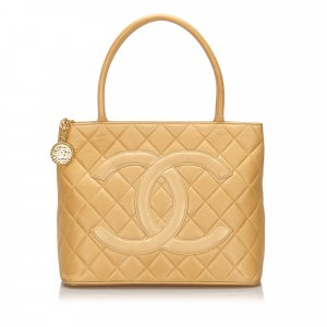 Chanel Caviar Medallion Tote