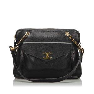 Chanel Caviar Skin Shoulder Bag