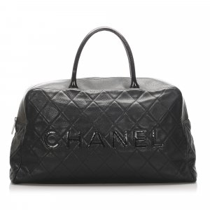 Chanel Caviar Travel Bag