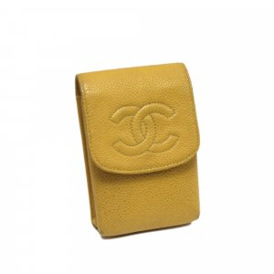 Chanel CC Caviar Cigarette Case