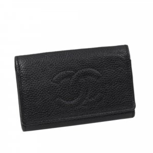 Chanel CC Caviar Key Holder