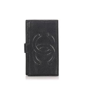 Chanel CC Caviar Long Wallet