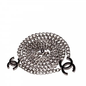 Chanel Belt silver-colored metal