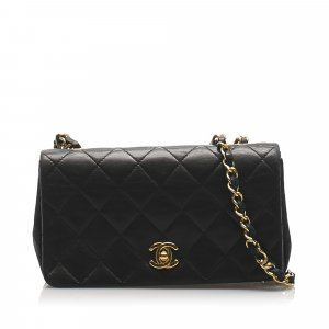 Chanel CC Chain Leather Shoulder Bag