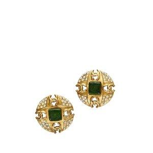 Chanel Kolczyk złoto Metal