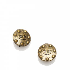 Chanel CC Clip-on Earrings