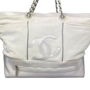 Chanel Tote wit Katoen