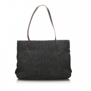 Chanel CC Denim Tote