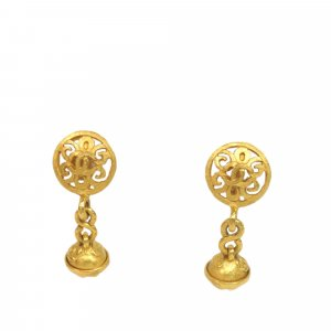 Chanel Earring gold-colored metal
