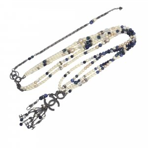 Chanel CC Faux Pearl Belt