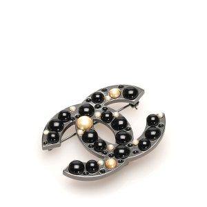 Chanel Broche zwart