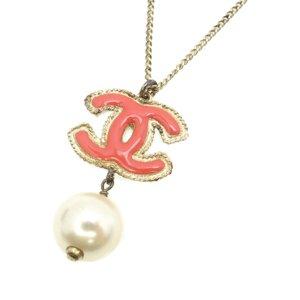 Chanel Collar rosa metal