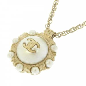 Chanel Ketting wit Metaal