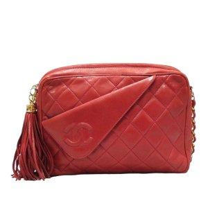 Chanel CC Lambskin Leather Crossbody