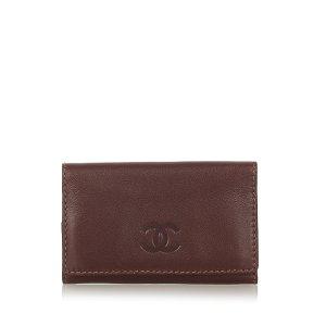 Chanel CC Leather Key Holder