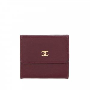 Chanel CC Leather Wallet