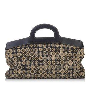 Chanel Travel Bag beige cotton