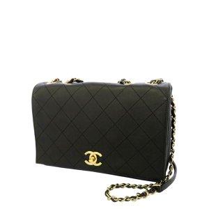 Chanel CC Matelasse Lambskin Flap Crossbody Bag