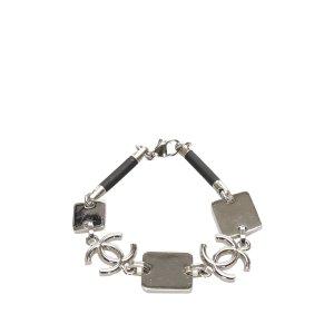 Chanel Bracelet silver-colored metal